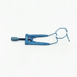 Lieberman Open V-Wire Speculum Adjustable 14.5mm blades  65mm