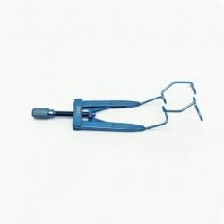 Lieberman Open V-Wire Speculum Adjustable 14.5mm blades 65mm