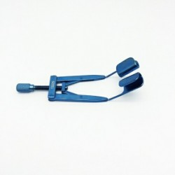 Lieberman Solid Speculum Adjustable 14.5mm blades  65mm