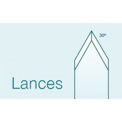 Lance 35 Degrees 1.0mm straight